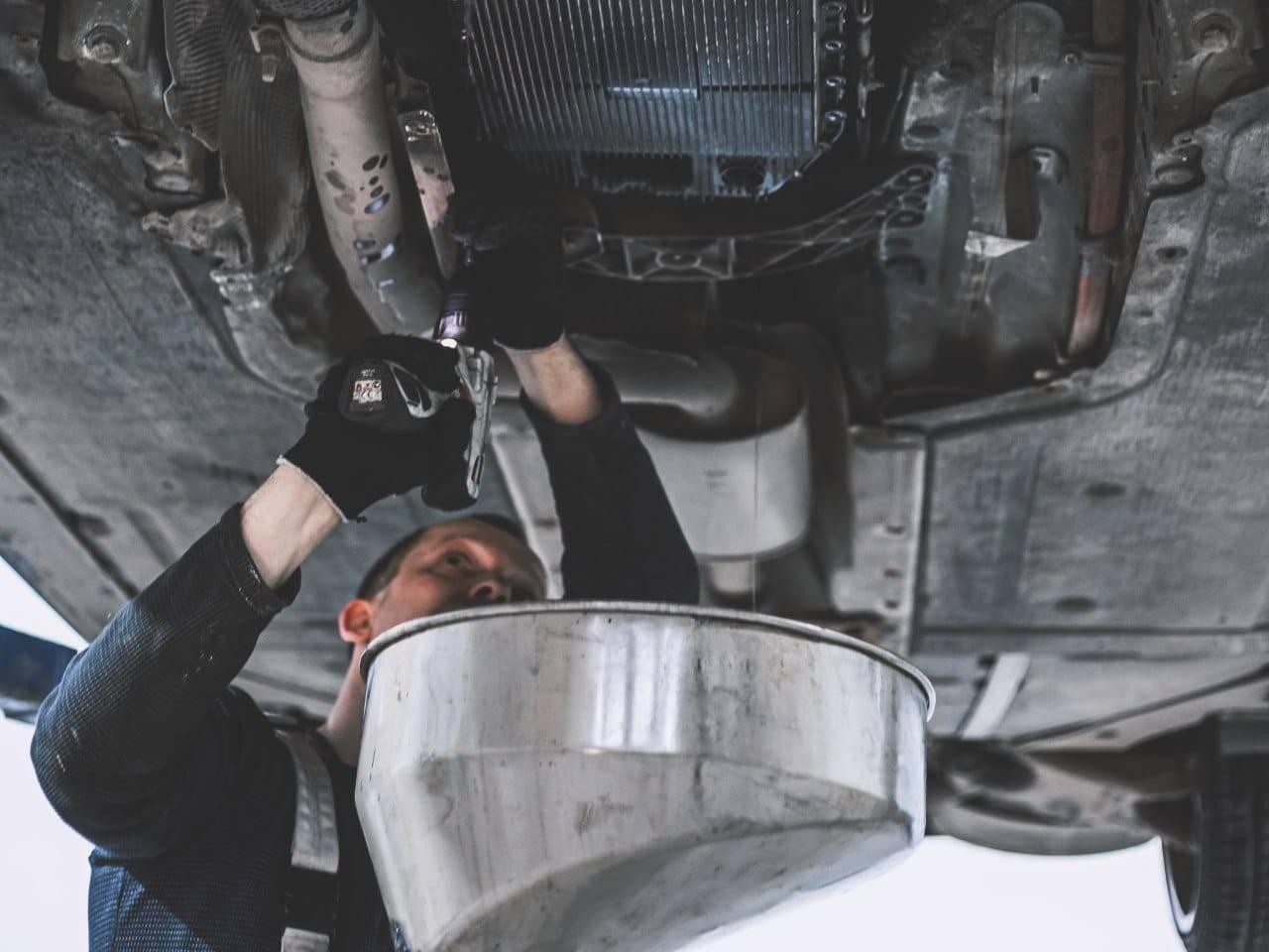 Замена масла АКПП ZF GA6HP19 на BMW 520d E60 1