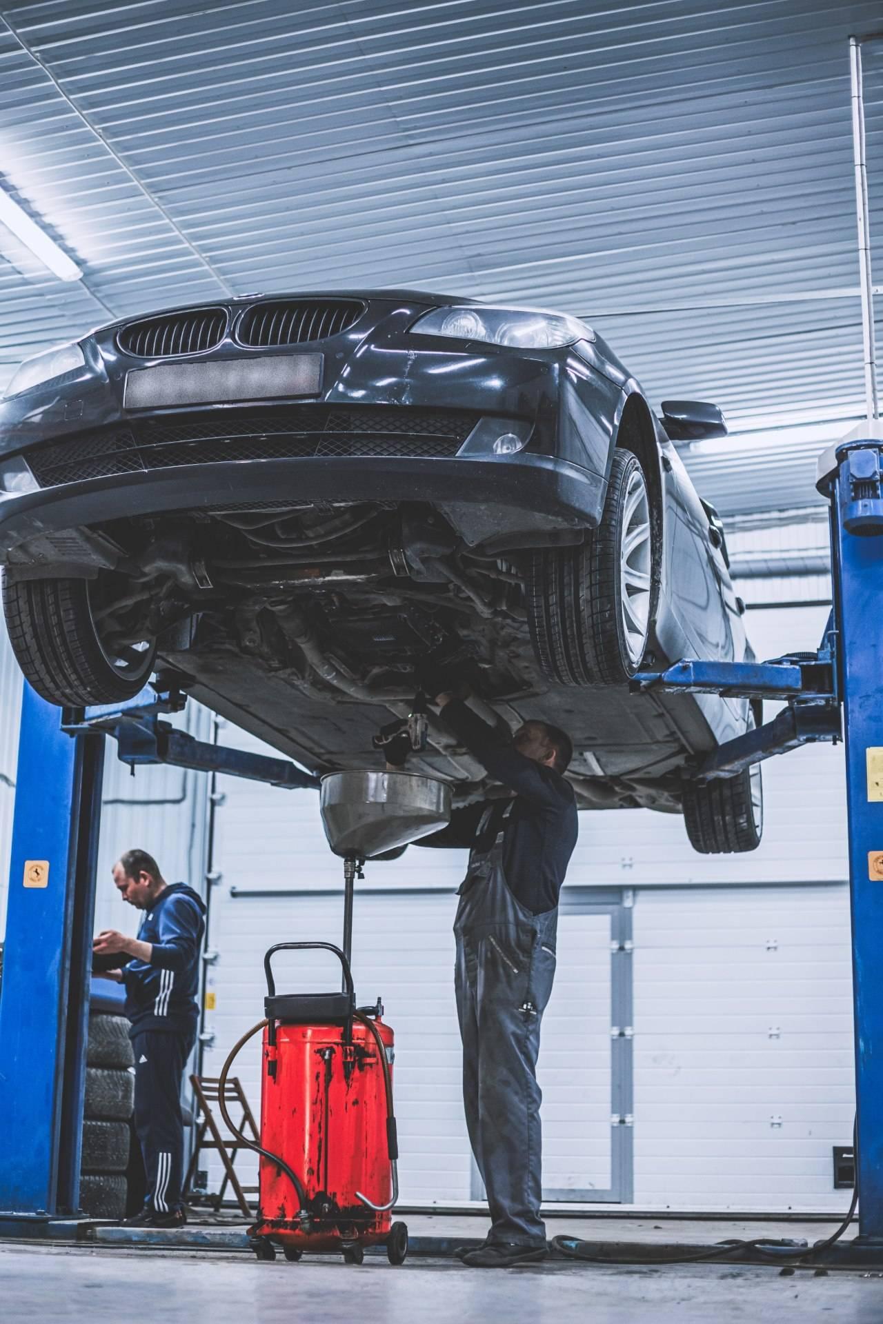 Замена масла АКПП ZF GA6HP19 на BMW 520d E60 2