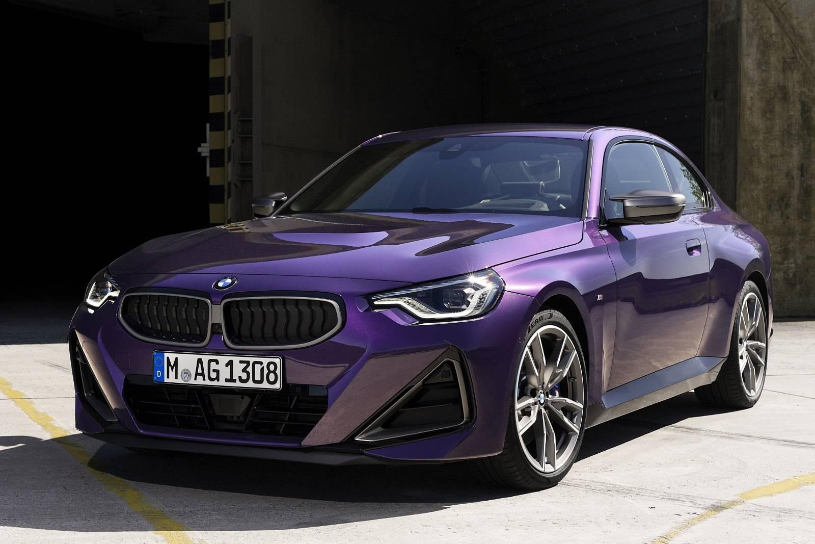 Новый BMW 2 серии Coupe G42 1