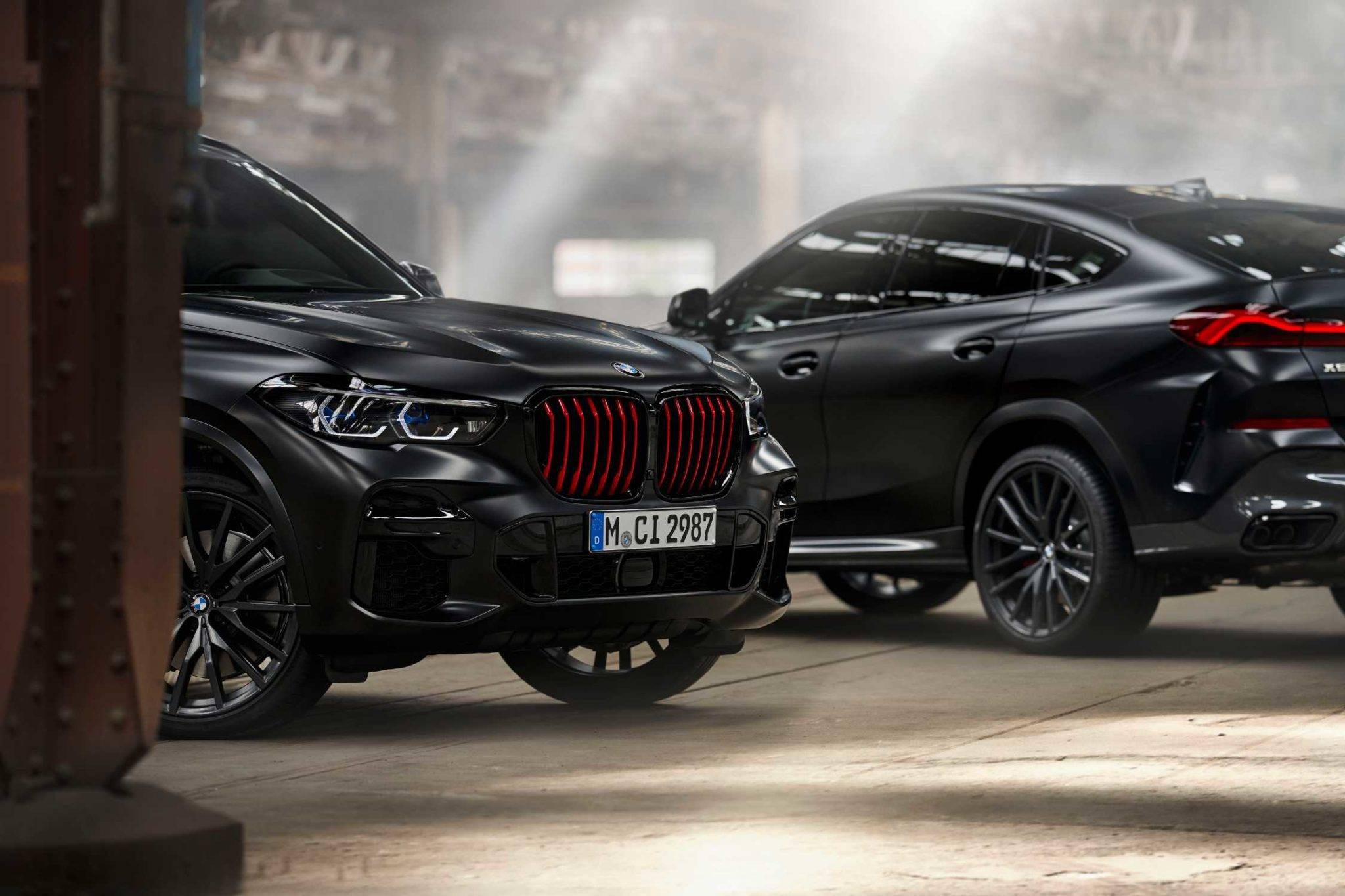 BMW X5 и BMW X6 Black Vermilion Edition 1