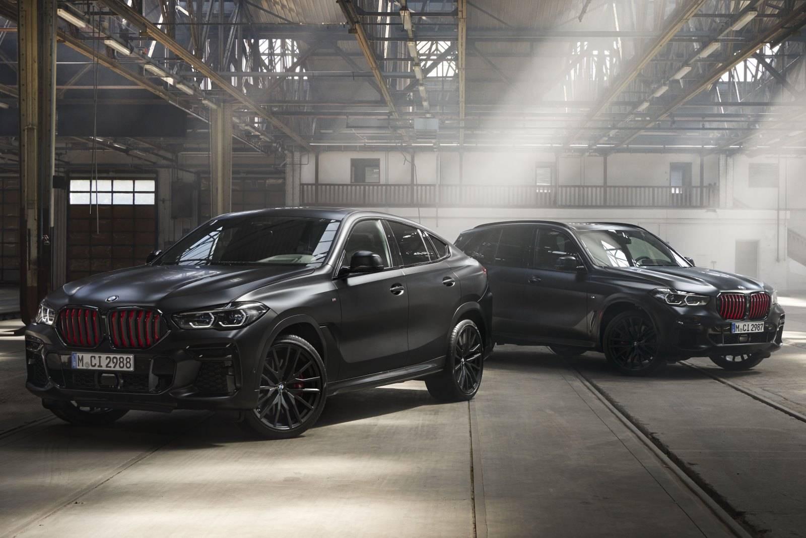 BMW X5 и BMW X6 Black Vermilion Edition 2