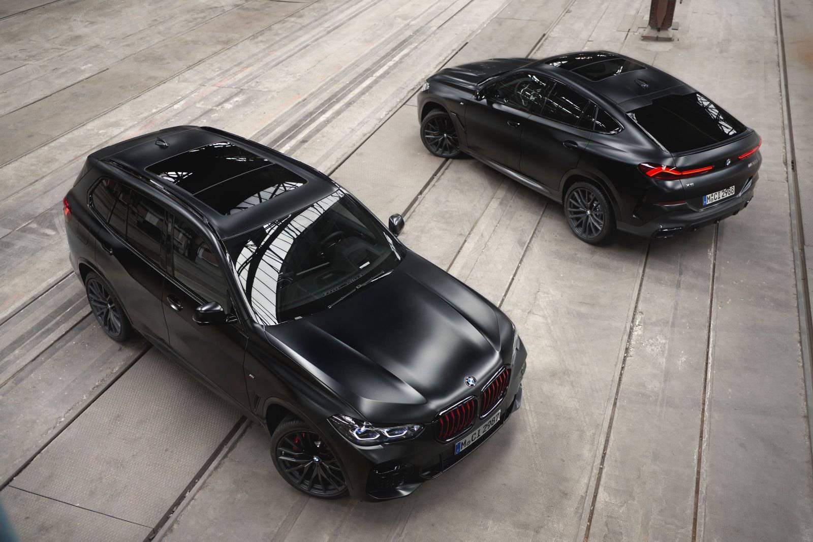 BMW X5 и BMW X6 Black Vermilion Edition 3