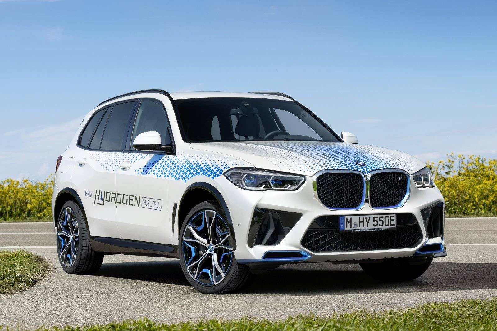 BMW iX5 Hydrogen испытают на выставке IAA Mobility 2021 1
