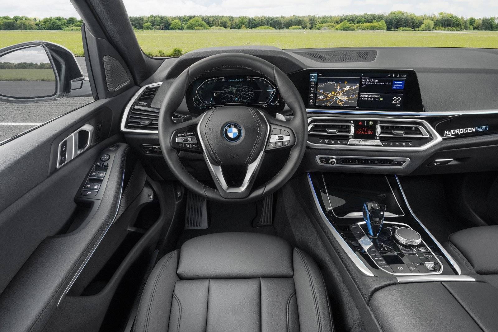 BMW iX5 Hydrogen испытают на выставке IAA Mobility 2021 5