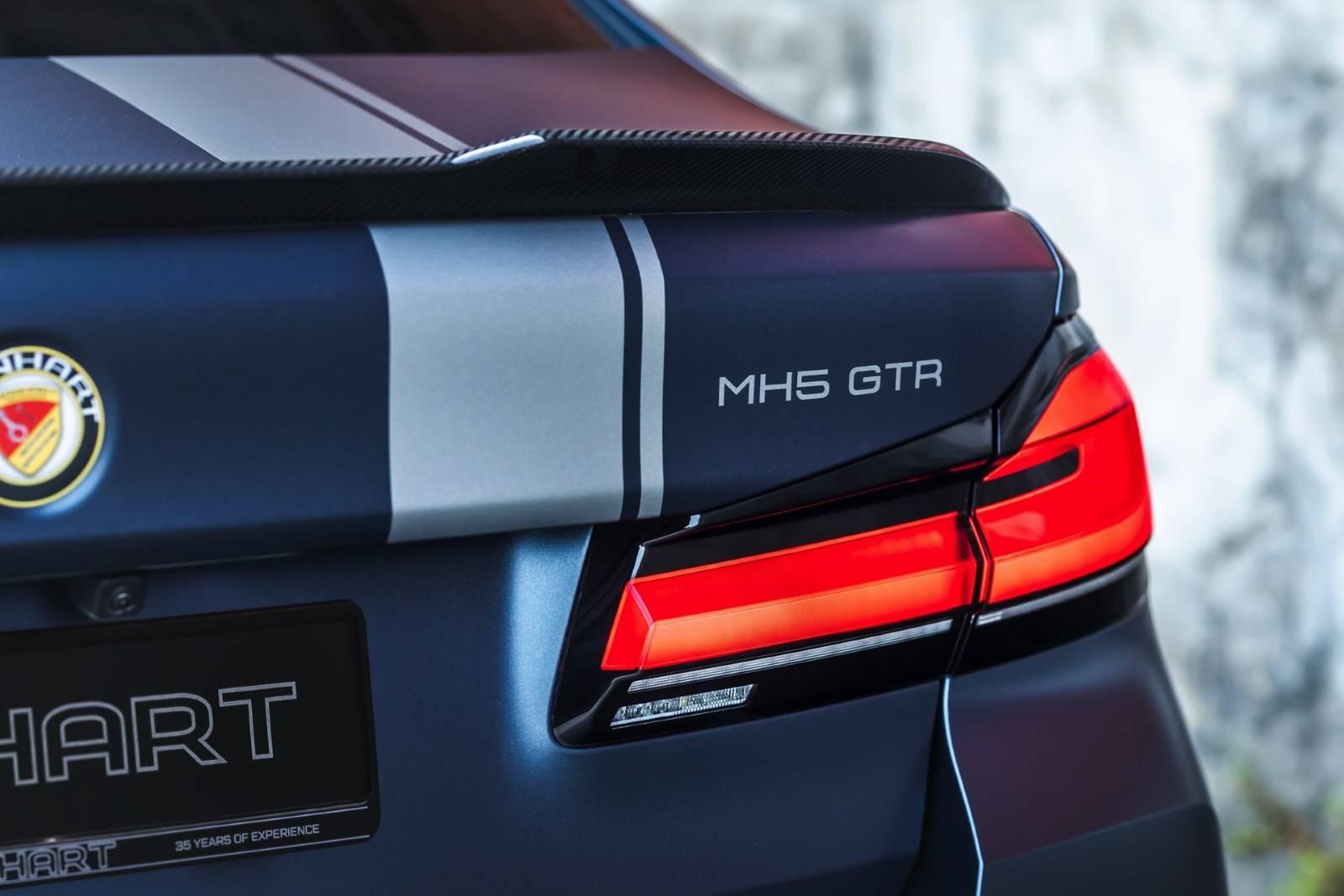 Manhart MH5 GTR: суперспортивный BMW M5 CS F90 LCI 9