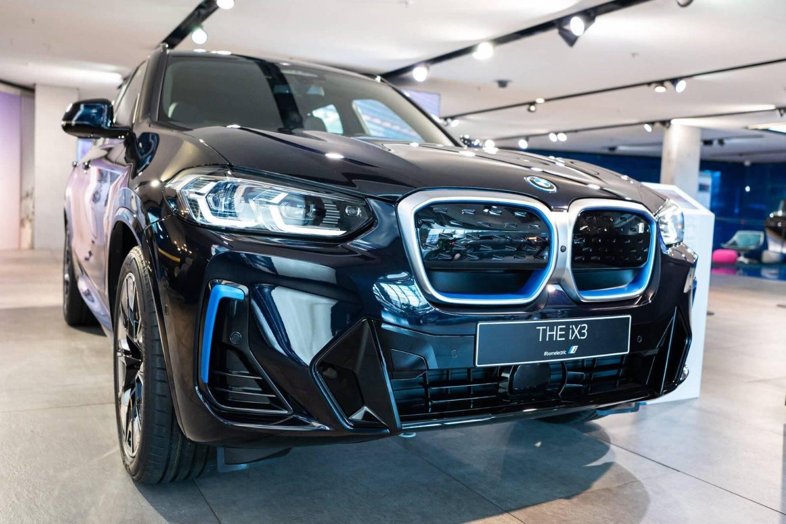Рестайлинговый BMW iX3 G01 LCI 1