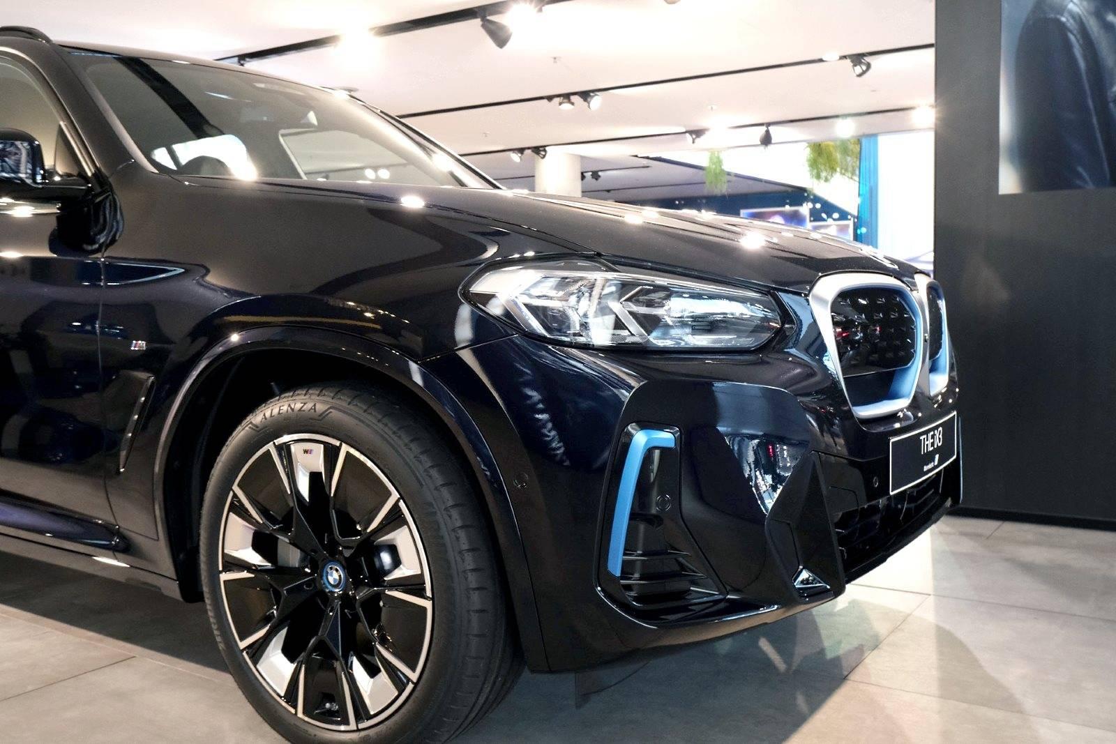 Рестайлинговый BMW iX3 G01 LCI 2