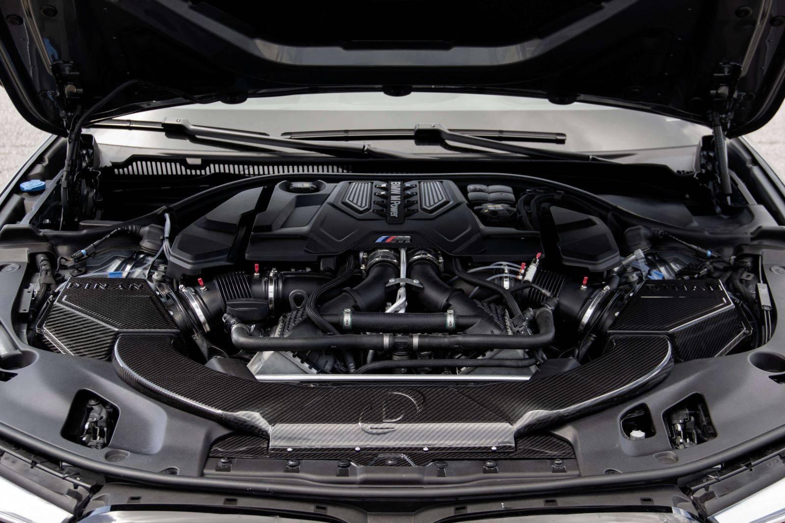 Карбоновый впуск Dinan для BMW M5 F90 1