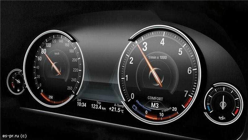 Установка расширенной приборной панели на BMW (6WA, 6WB) 1